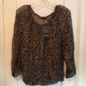 Femme long sleeve blouse